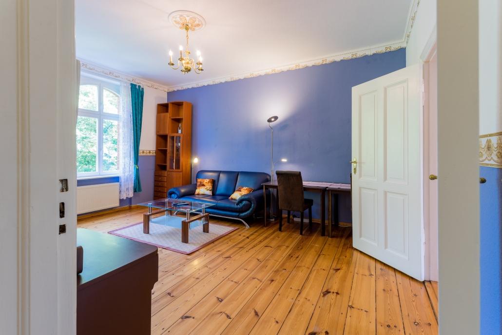 Wohnzimmer, bezugsfertige Wohnung in Berlin-Köpenick