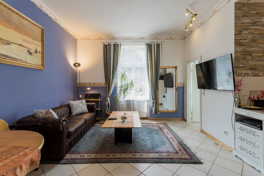 Wohnung Berlin - 1. Obergeschoss - Wohnzimmer