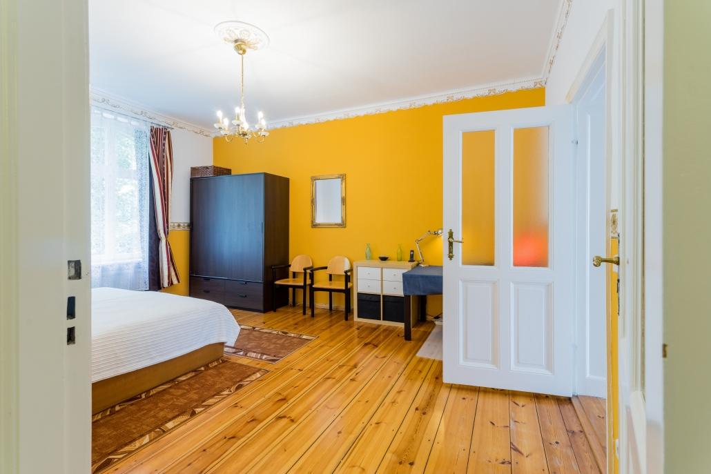 Wohnung Berlin - 1. Obergeschoss - Schlafzimmer