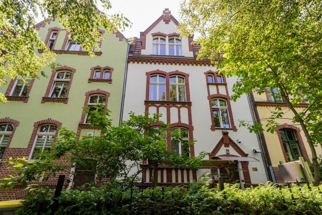 Wohnung Berlin Hausansicht