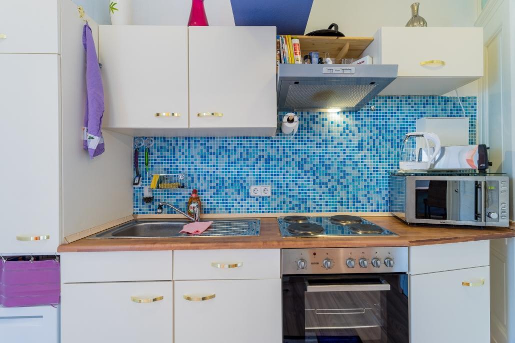 Küche, bezugsfertige Wohnung in Berlin-Köpenick