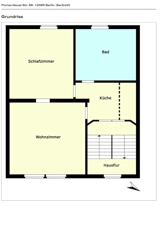 Wohnung Berlin - Wohnskizze - 2.OG
